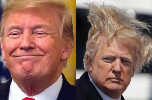 Трамп похвастался своей прической