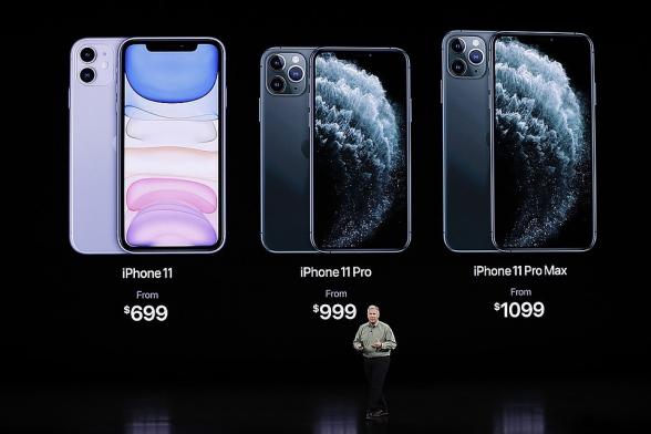 «Apple» представила три новых «iPhone»