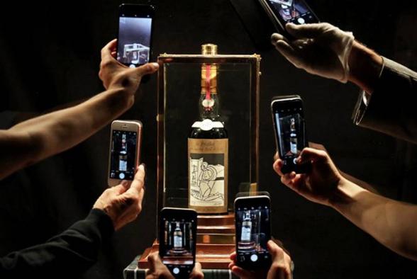 «Վիսկիների մեծագույն հավաքածուն» կդրվի Sotheby՚s-ի աճուրդին