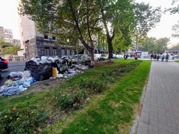 Александр Лапшин понял, почему Ереван утопает в мусоре