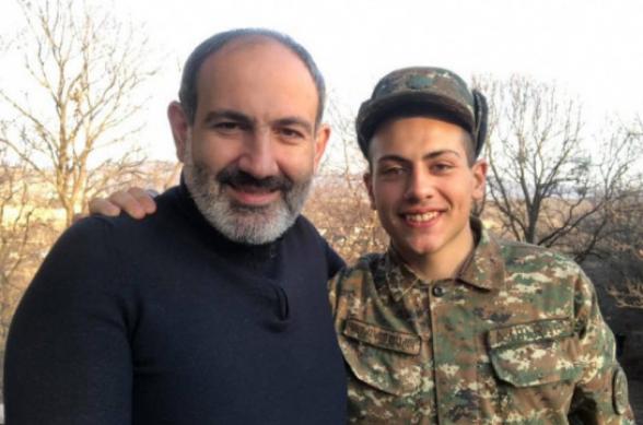 Сын Никола Пашиняна находится в очередном отпуске – МО