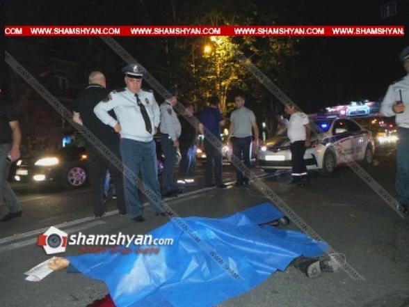 25–ամյա վարորդը բեռնատար Opel-ով վրաերթի է ենթարկել փողոցը չթույլատրելի հատվածով անցնող հետիոտնին. վերջինը տեղում մահացել է