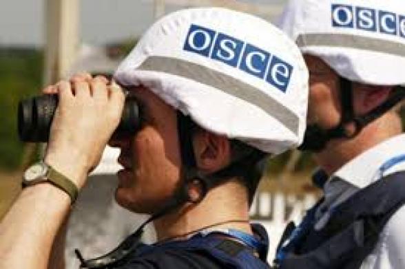 ԵԱՀԿ-ն դիտարկում է անցկացրել Արցախի և Ադրբեջանի զինված ուժերի շփման գծում