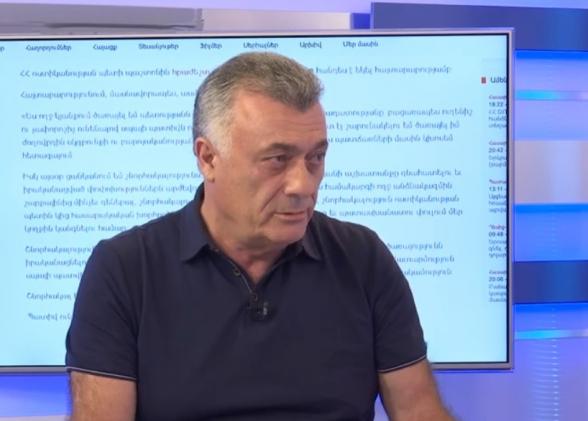 Пашинян невосприимчив – Рубен Акопян (видео)