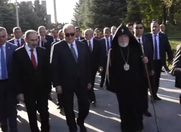 «Տրինաժոր եմ գնում». Փաշինյանը՝ Արմեն Սարգսյանին