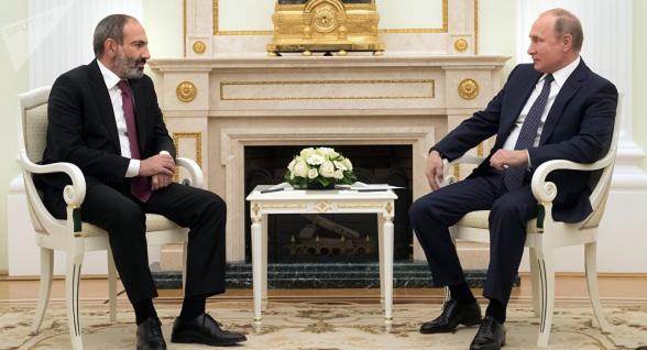 Путин поздравил с Днем независимости руководство Армении