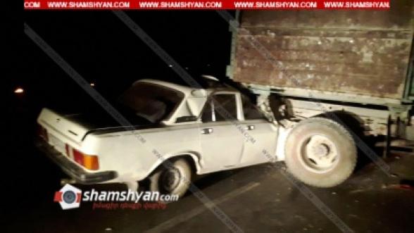 Արարատում 29–ամյա վարորդը ГАЗ 3102 մեքենայով մխրճվել է բեռնատար ЗИЛ-ի մեջ. կա վիրավոր