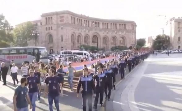 ՀՅԴ երիտասարդների «Անկախության երթը» (տեսանյութ)