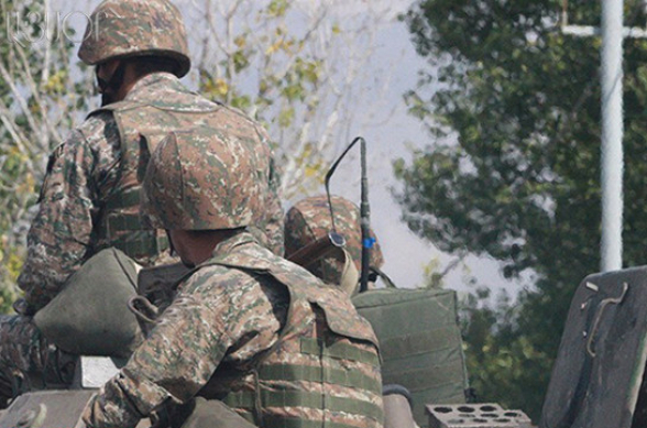 Արցախի մարտական դիրքերից մեկից զինվորը հրազենային վնասվածքներով, ծայրահեղ ծանր ախտորոշմամբ, տեղափոխվել է հոսպիտալ