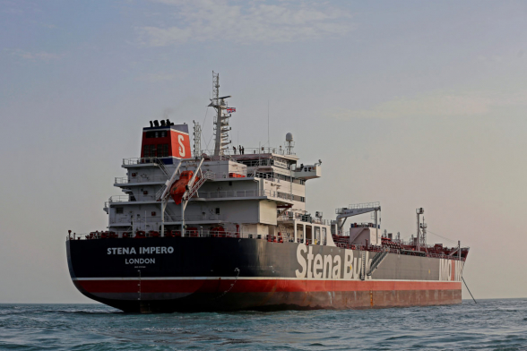 Иран освободил захваченный британский танкер
