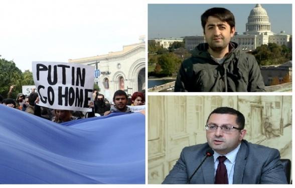 Իշխանությունները բողոքի ակցիաներ են կազմակերպում ՌԴ նախագահ Պուտինի դեմ․ ակտիվիստներ կլինեն նաև Վրաստանից