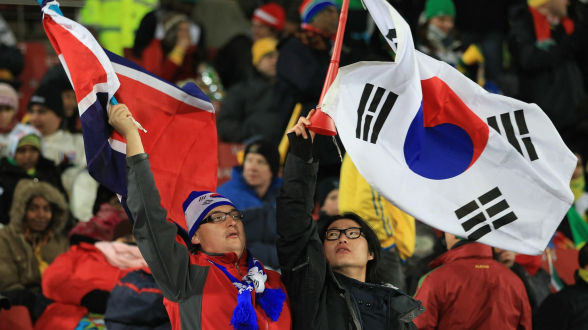Сборные КНДР и Южной Кореи проведут футбольный матч в Пхеньяне