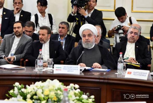 Ռոհանին ԵԱՏՄ ներդրողներին առաջարկեց օգտվել Իրանի տարածքով տարանցման լայն հնարավորությունից