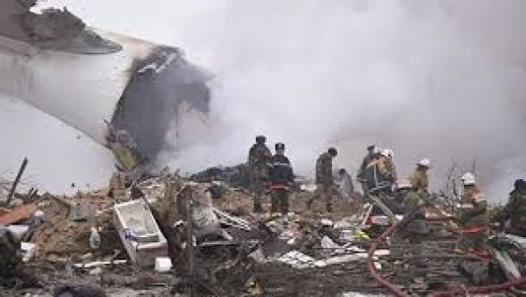 Տեսանյութ. Արտակարգ վայրէջք կատարելիս Ուկրաինայում ինքնաթիռ է վթարվել․կան զոհեր