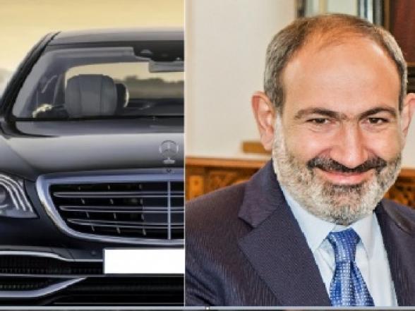 Փաշինյանի նոր մեքենան արժեցել է ավելի քան 290 հազար դոլար․ վարչապետի շռայլ ծախսերը շարունակվում են (լուսանկար)