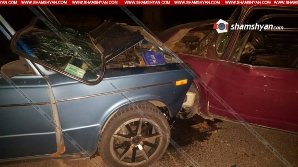 Մայակովսկի գյուղում բախվել են «06»-ն ու «07»-ը. կա 4 վիրավոր