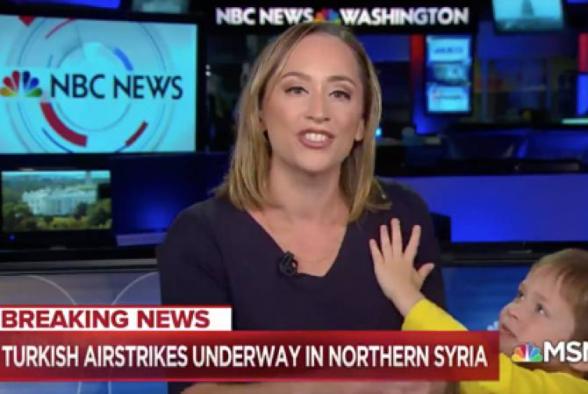 Ամերիկացի հաղորդավարուհու որդին քիչ էր մնում խափաներ NBC-ի եթերը (տեսանյութ)