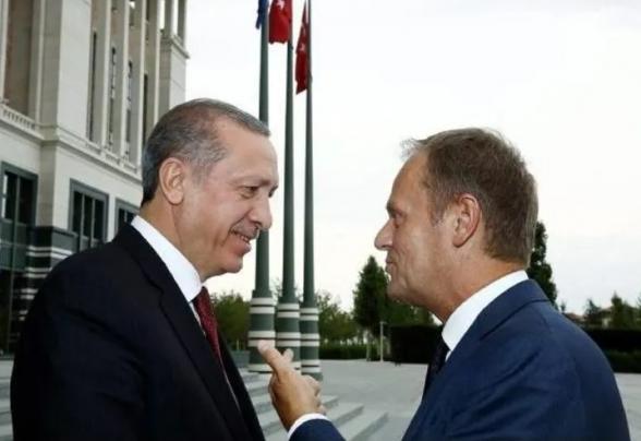 Глава Евросовета назвал угрозы Эрдогана шантажом