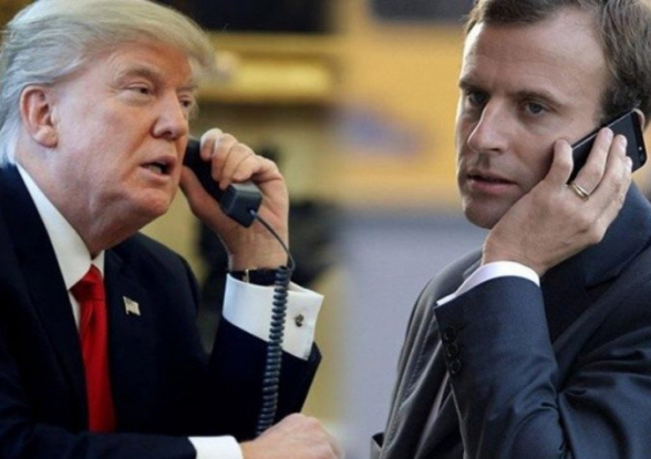 Макрон призвал Трампа прекратить операцию Турции в Сирии