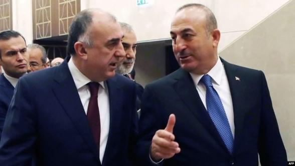 Թուրքիայի և Ադրբեջանի ԱԳ նախարարները քննարկել են ղարաբաղյան հակամարտությունը