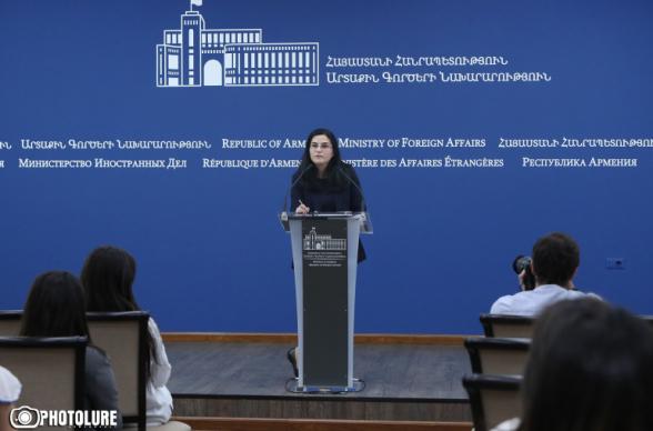 Преподнесение Алиевым сценария Мараги, как видения урегулирования Карабахского конфликта, демонстрирует подход Азербайджана: ему нужен Арцах без коренного населения – МИД Армении