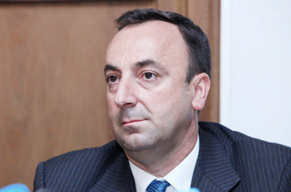 Глава КС Грайр Товмасян взял отпуск