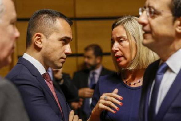 Իտալիան կվերանայի Թուրքիային զենքի մատակարարման պարտավորագրերը