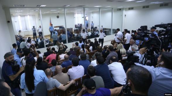 Суд отложил заседание по делу Роберта Кочаряна и других (видео)