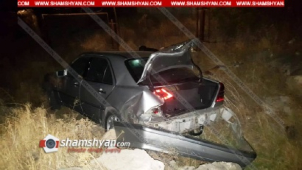 Կոտայքի մարզում բախվել են 22-ամյա վարորդի Hyundai-ը և 24-ամյա վարորդի Mercedes-ը. կա վիրավոր