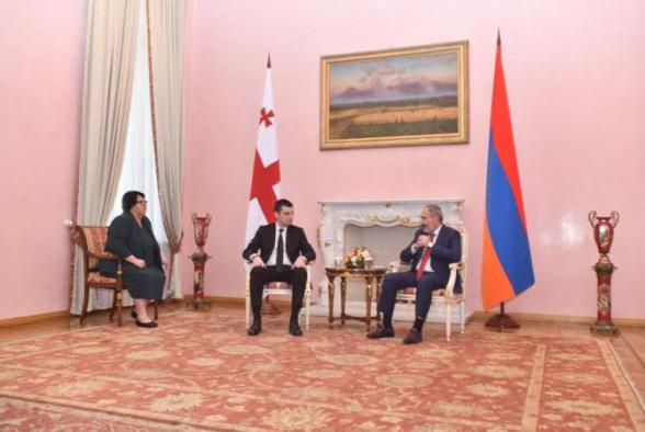 Հանդիպել են Հայաստանի և Վրաստանի վարչապետները