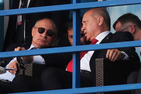 В Кремле рассказали о скором визите Эрдогана в Россию
