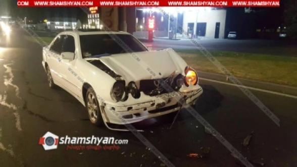 Աբովյան քաղաքի Տիեզերագնացների հրապարակում բախվել են 3 Mercedes-ներ. կա վիրավոր