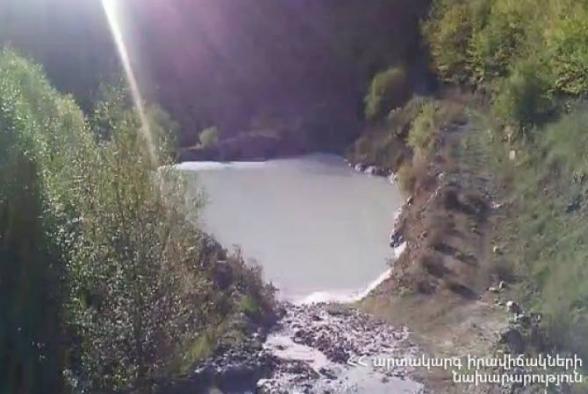 Վնասվել է կոմբինատի պոչամբարը. արտանետումները լցվել են Ողջի գետը (տեսանյութ)