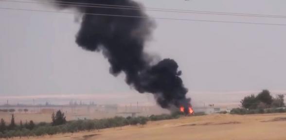 Курды уничтожили турецкий танк
