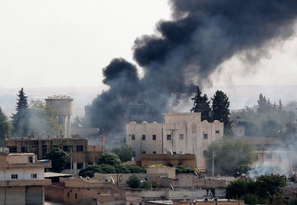 В районе сирийского города Рас-эль-Айна возобновились обстрелы