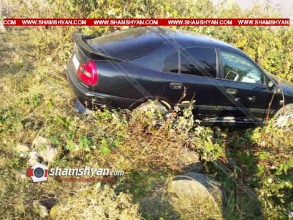 Տավուշի մարզում Mitsubishi-ին դուրս է եկել ճանապարհի երթևեկելի գոտուց, բախվել երկաթե արգելապատնեշին և հայտնվել ձորակում. կա 1 զոհ, 1 վիրավոր (տեսանյութ)
