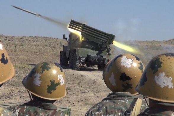 Сегодня – День ракетно-артиллерийских войск Армении