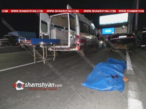 Երևանում BMW-ն բախվել է էլեկտրասյանը. մահացածներին և վիրավորներին ավտոմեքենայից դուրս են բերել փրկարարները