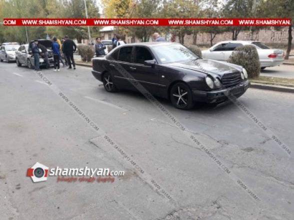 Աբովյան քաղաքում բախվել են Mercedes-ը, Kia Forte-ն, Opel-ն ու 06-ը