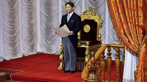 Новый император Японии взошел на престол (видео)