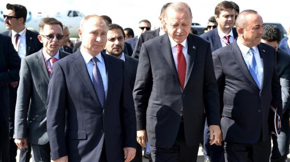 Президенты России и Турции обсудят положение дел в Сирии на переговорах в Сочи (видео)