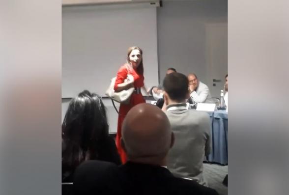 Մարինա Խաչատրյանի տհաճ անակնկալը Լարիսա Մինասյանին և մյուս սորոսականներին (տեսանյութ)