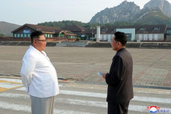 Ким Чен Ын приказал снести южнокорейские сооружения на популярной у туристов горе Кымгансан