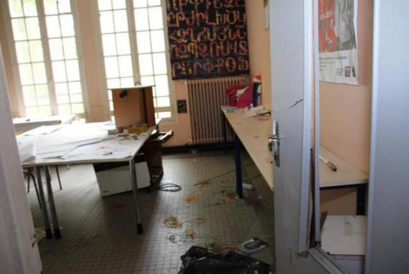 Փարիզի հայկական վարժարանի վրա հարձակում է կատարվել