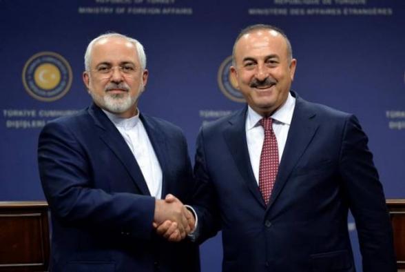Իրանի և Թուրքիայի ԱԳ նախարարները քննարկել են Սիրիայի հյուսիսի իրադրությունը