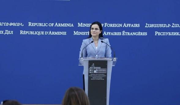 Комментарий пресс-секретаря МИД Армении относительно заявления главы МИД Словакии о проведении встречи Мнацаканян-Мамедъяров в Братиславе