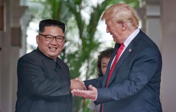 КНДР обвинила США в использовании отношений Трампа и Ким Чен Ына