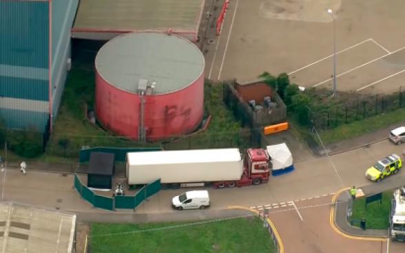 39 погибших в грузовике в Великобритании заплатили по 30 тысяч евро за доставку через Россию и ЕС (видео)