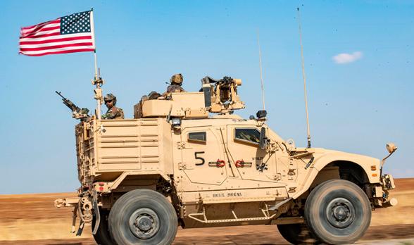 Թուրքամետ զինյալները Սիրիայում գնդակոծել են ամերիկյան շարասյունը
