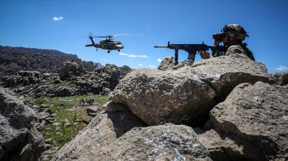 Թուրքիայում PKK-ի 8 զինյալ է սպանվել